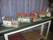 Modellbau-Bahnhäuser