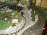 Modelleisenbahnplatte