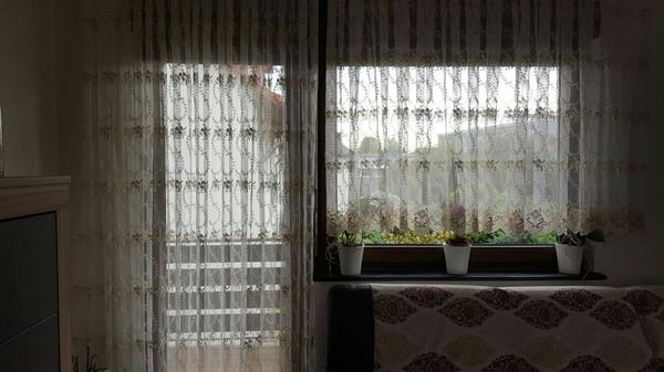 Moderne Gardinen Für Wohnzimmer Und Schlafzimmer Mit Vorhang Zu