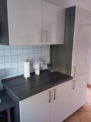 moderne Küche ohne Elektrogeräte in Waldbronn - Küchenmöbel ...