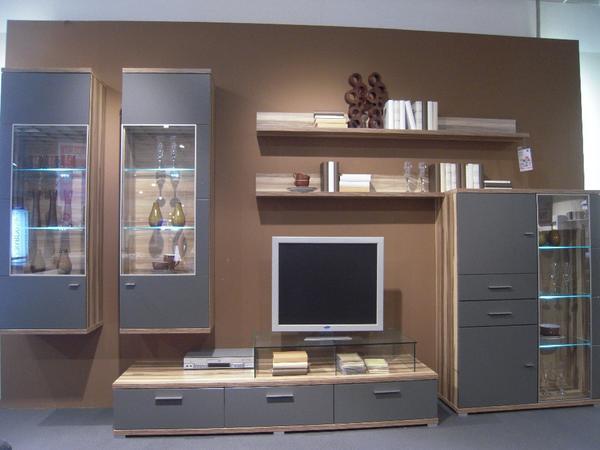 Delightful Moderne Wohnzimmer Schrankwand Wohnzimmerschrnke Anbauwnde   Moderne  Wohnzimmer Schrankwand Idea