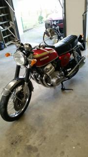Motorrad honda cbx750