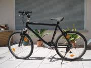 Mountainbike schwarz