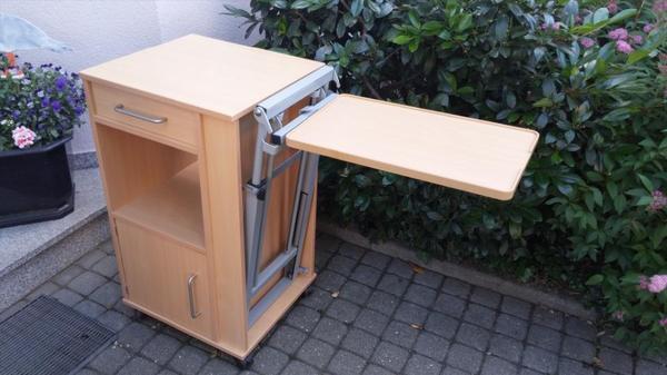 Nachttisch pflegetisch nachtschrank bettisch krankenhaus for Beistelltisch pflegebett