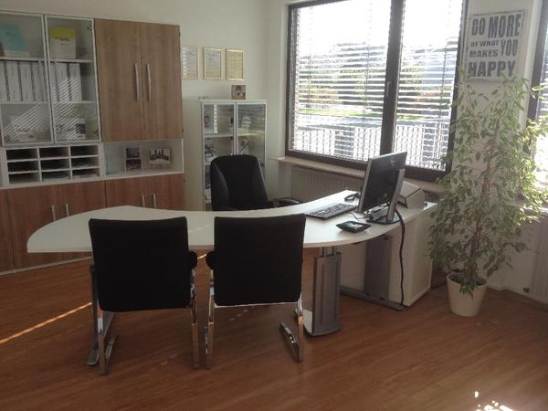 Büromöbel Modern. b rom bel clevira in wei hochglanz. moderne b rom ...