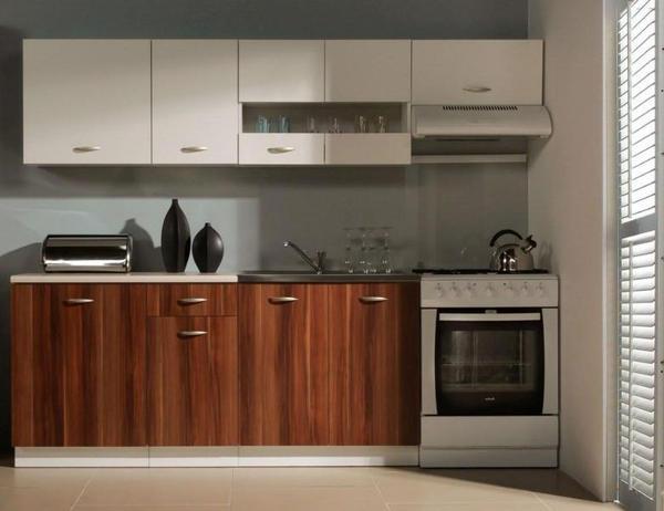NEUE Küchenzeile DAKOTA 240cm Einbauküche Küche WEISS PFLAUME in ...   {Küchenzeilen 86}