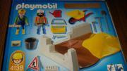 neuwertiges Playmobil Baustelle Set 4138