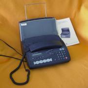 Normalpapier-Fax mit