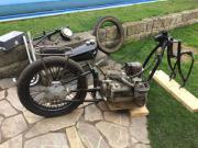 Oldtimer Motorrad BMW
