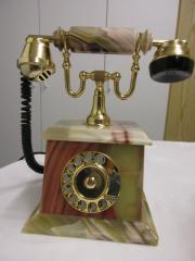 Onyx-Telefon mit