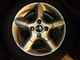 Alufelgen - Opel 4x Fondmetal TECH1 G3