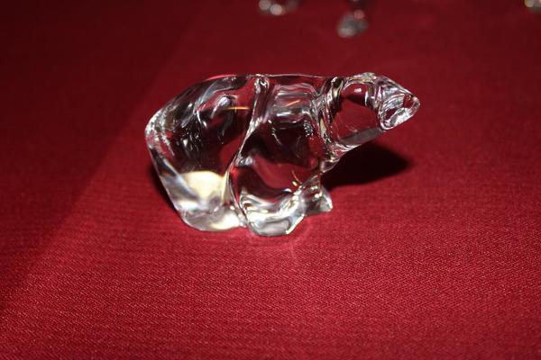 Original Hadeland Eisbär und Hund