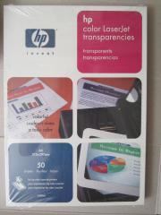 Original HP color laserjet transparencies50