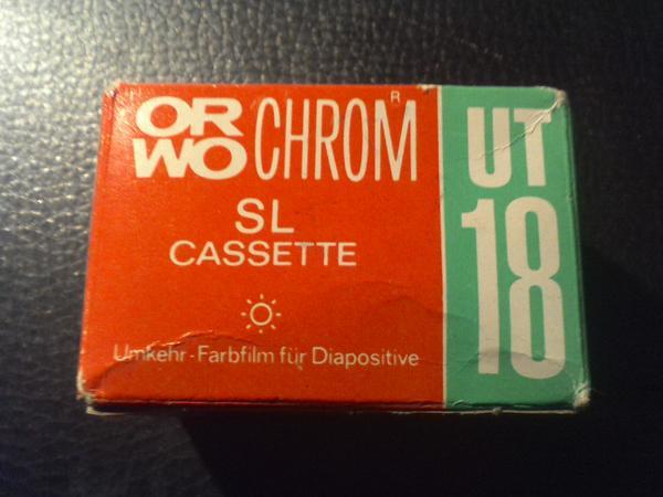 ORWO UT 18 Kassettenfilme Retro - Dresden - Gebe 3 UT- 18 ORWO Kassetten für zus. 5EUR ab für sammler.Ferner ein Dia-Betrachter Visomat 55 mit Zubehör vorhanden. - Dresden