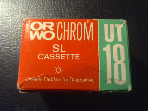 ORWO UT 18 Kassettenfilme Retro