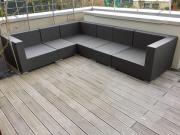 Outdoor Lounge zu