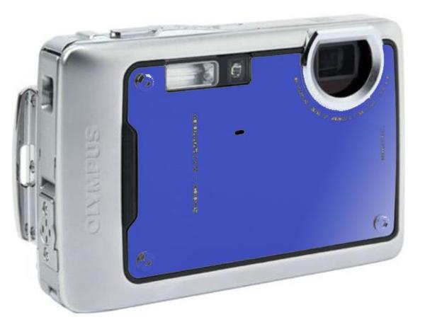 """Outdor- Unterwasserkamera µ770SW Olympus - Prenzlau - Kompaktkamera wasserdicht bis 10 m, Sensor : CCD 1/2.3"""" 7 Mpixels Maximale Auflösung : 3072 x 2304 Video : 640 X 480, 15 i/s optischer Korrektur Faktor (equiv. 24x36) : 3.5-5/38-114 mm Sucher : optischer Sucher + Display Blendeneinstellung : A - Prenzlau"""