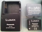 Panasonic Ladegerät und Lumix Lithium-Ionen