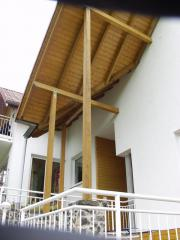 Parterrewohnung in Niedrigenergiehaus