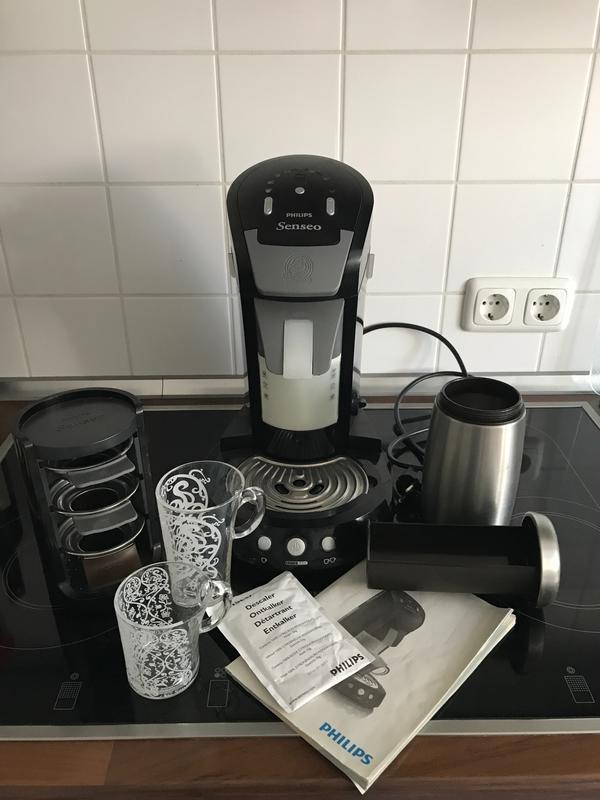 philips senseo hd 7854 latte select kau gebraucht kaufen. Black Bedroom Furniture Sets. Home Design Ideas