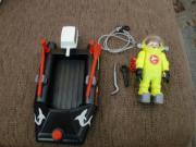 Playmobil 4910 Kleinboot mit Tiefseetaucher