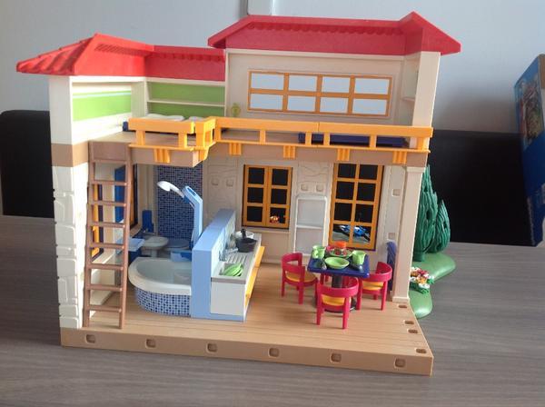 playmobil ferienhaus 4857 in mannheim spielzeug lego playmobil kaufen und verkaufen ber. Black Bedroom Furniture Sets. Home Design Ideas