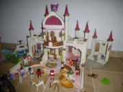 Playmobil Märchenschloss Pavilllion Schlossgarten