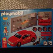 Playmobil Pkw Tuning Werkstatt 4321