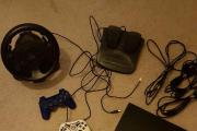 Playstation 3 + Lenkrad &