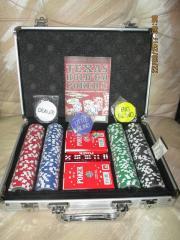 Poker-Spiele-Koffer