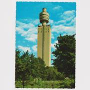 Postkarte Henninger Turm um 1970