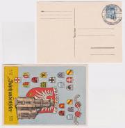 Postkarte Paulskirche, PostStempel