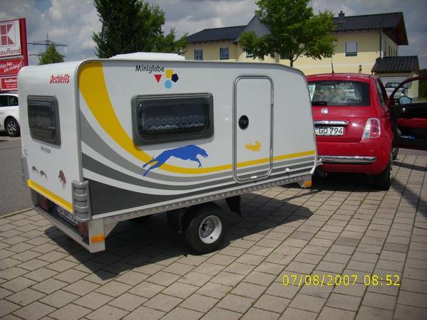 preissenkung miniwohnwagen dethleffs miniglobe kids camp. Black Bedroom Furniture Sets. Home Design Ideas