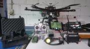 professioneller Hexacopter Kameracopter