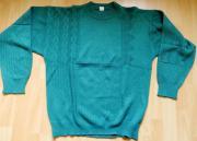 Pullover Gr 50 türkis-grün - effektvolle