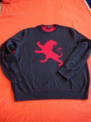 Pullover Löwenmotiv Gr L