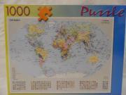 Puzzle ungeöffnet The World Weltkarte