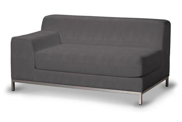 Kramfors sofa ikea kramfors 2er sofa rechts einrichten for Sofa dunkelgrau