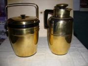 Reduziert Thermoskanne und Eisbehälter von