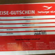 Reisegutschein