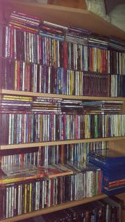 Riesige CD Sammlungen