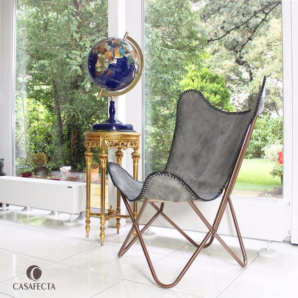 Hamburg Designermöbel sale butterfly chair echtleder schmetterling stuhl in hamburg