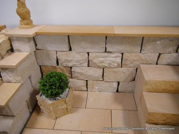 Sandstein mauersteine sandsteinmauer natursteinmauer 20 20 40 cm in karben sonstiges f r den - Mauersteine fur den garten ...