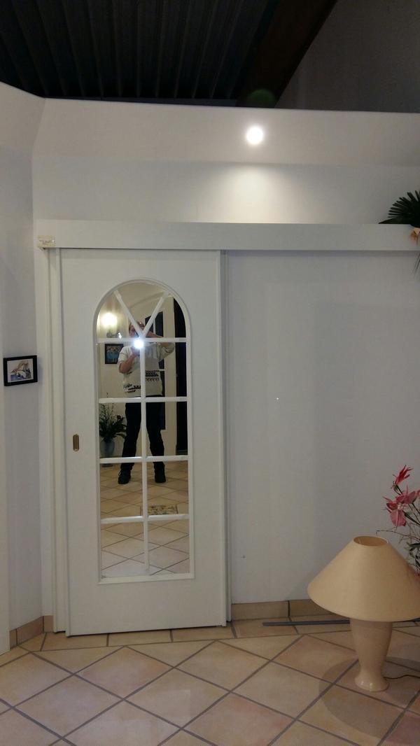 SCHIEBETÜR aus Ausstellung ! » Türen, Zargen, Tore, Alarmanlagen