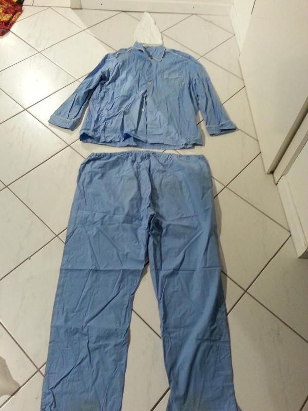 Schlafanzug Gr 58 Xxxl 3xlschlafmutze Nachthemd Pyjama Haube Fur