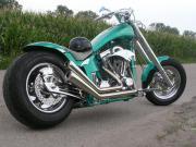 schöne gepflegte Harley zu verkaufen