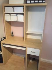 Schreibtischplatte ikea  Ikea Schreibtisch Aufsatz - Haushalt & Möbel - gebraucht und neu ...