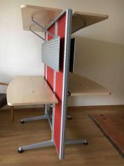 Schreibtisch / Trennwand / Stellwand /