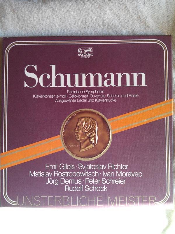 Schumann Unsterbliche Meister 3 LP