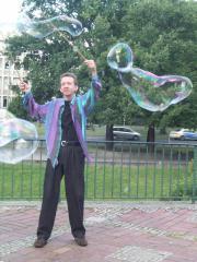 Seifenblasen Hannover auf